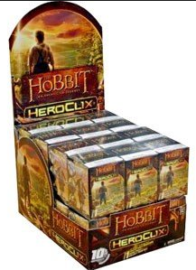 HeroClix Hobbit: An Unexpected Journey 24ct Counter-top Display
