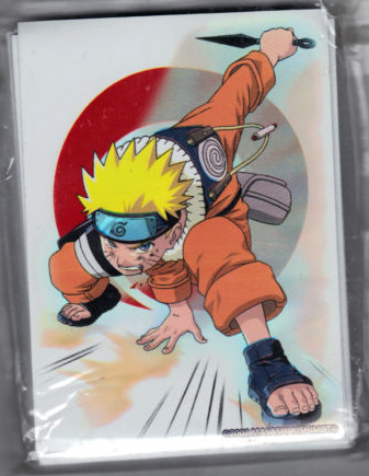 Naruto CCG Card Sleeves- White Naruto Pack