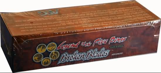 L5R Gold Edition Broken Blades Starter Box