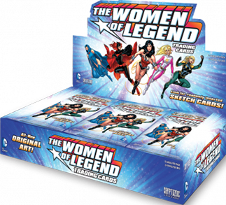 Cryptozoic 2013 DC Women of Legend Factory Sealed Trading Card Box