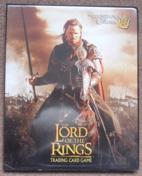 LOTR The Countdown Collection Card Album