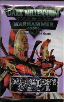 Warhammer 40K Dark Millennium: Damnation's Gate Booster Pack