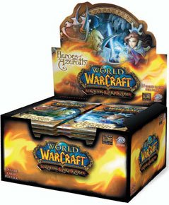 World of Warcraft TCG Heroes of Azeroth Booster Box