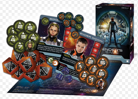Cryptozoic Enders Game Battle School Game