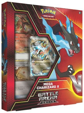 Pokemon Battle Arena Deck - Mega Charizard X Deck