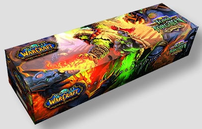 World of Warcraft TCG Tomb of the Forgotten Deck Storage Box