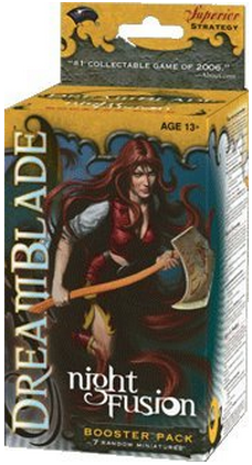 Dreamblade Collectible Miniatures Game Night Fusion Booster Pack