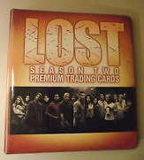 Inkworks Lost Season 2 Collectible Binder