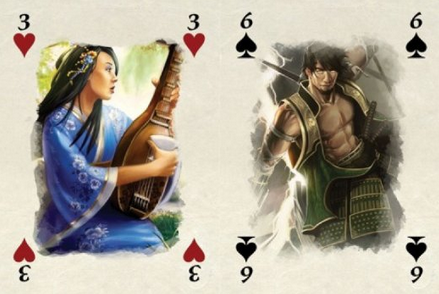 L5R Poker Player Cards Deck