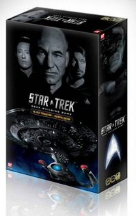 Star Trek Next Generation Deck Building Game