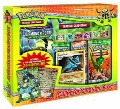Pokemon Diamond and Pearl Collector's Poster Box