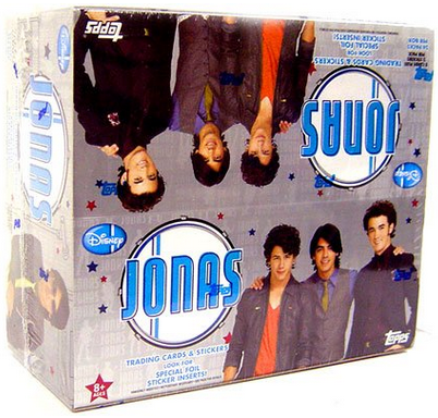 Topps Jonas Brothers Trading Cards & Sticker Box