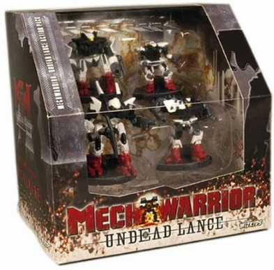 Mech Warrior Undead Lance Action Pack