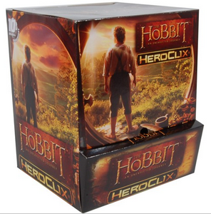 Heroclix Hobbit Unexpected Journey Mass Market 24ct Gravity Feed Display Box