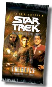 Star Trek 2nd Edition Energize Booster Pack