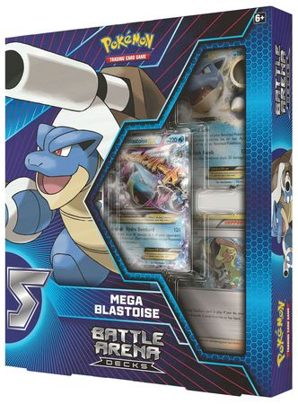 Pokemon Battle Arena Deck - Mega Blastoise Deck