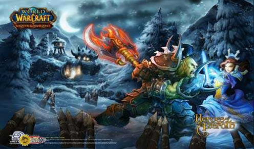 World of Warcraft Heroes of Azeroth Playmat