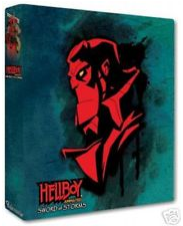 Inkworks Hellboy Animated Sword of Storms Trading Cards Collectible Binder