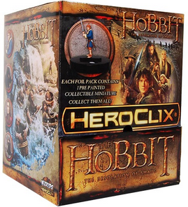 Heroclix Hobbit The Desolation of Smaug 24ct Gravity Feed Display Box