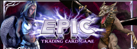Epic Trading Card Game Preconstructed Deck Box