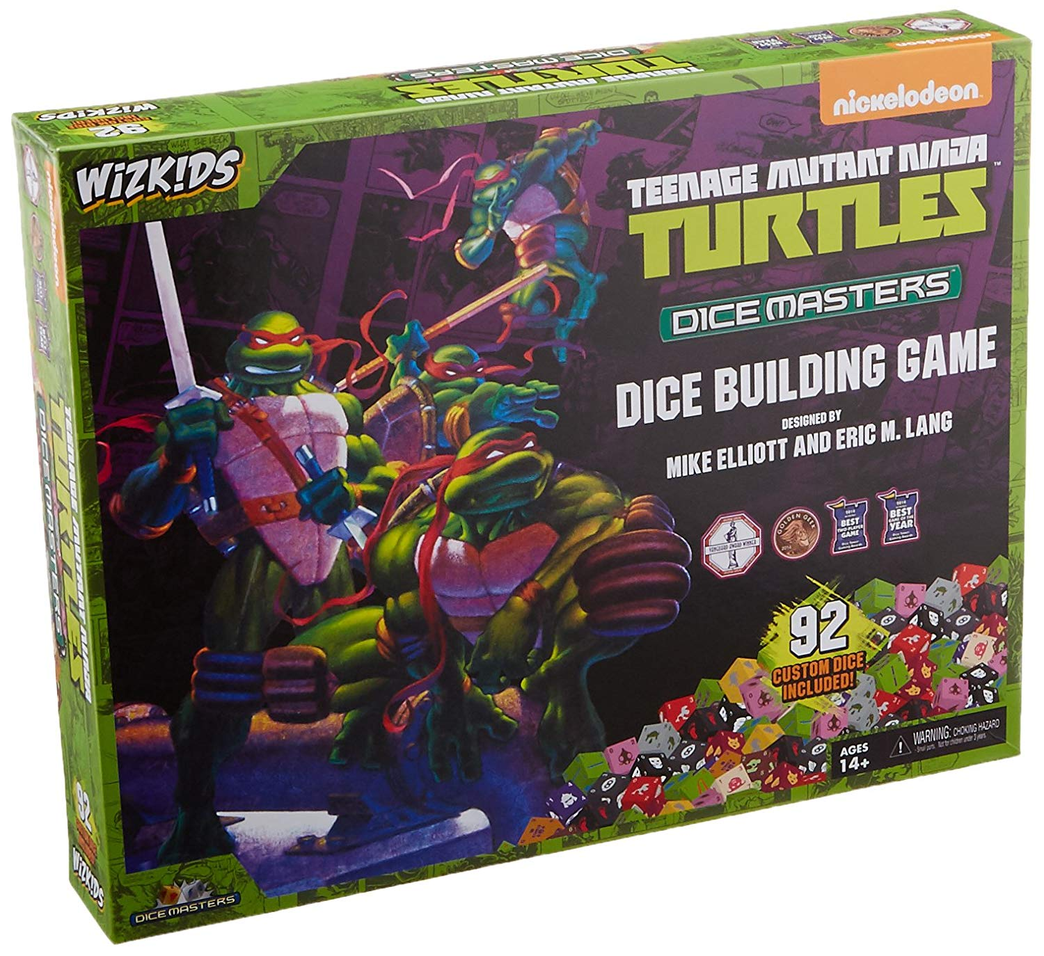 TMNT Dice Masters: Dice Building Game