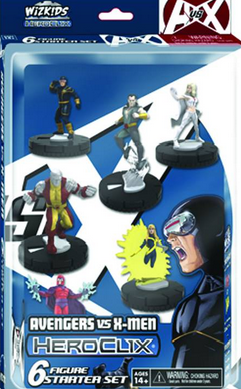 Marvel Heroclix Avengers vs X-Men: X-Men Starter Set