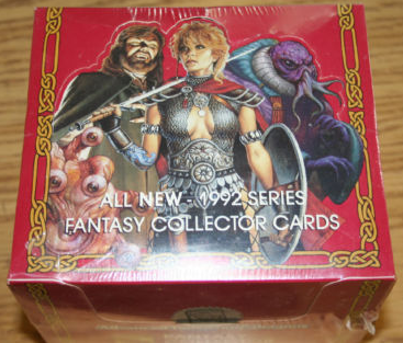 Advanced D&D 2nd Edition 1992 Series Fantasy Collector Card Red Box