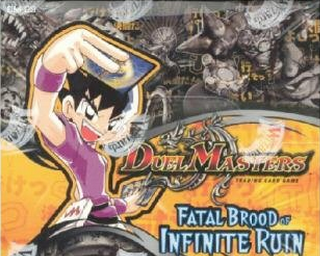 Duel Master Fatal Brood of Indinite Ruin Booster Box