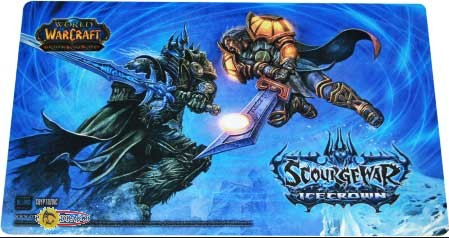 World of Warcraft Icecrown Playmat