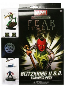 Marvel Heroclix Fear Itself Blitzkrieg USA Scenario Pack