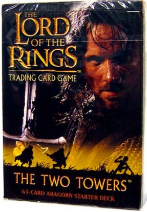LOTR Two Towers Aragorn Starter Deck