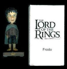 LOTR Upper Deck Mail Away 3 inch Frodo Bobble Head