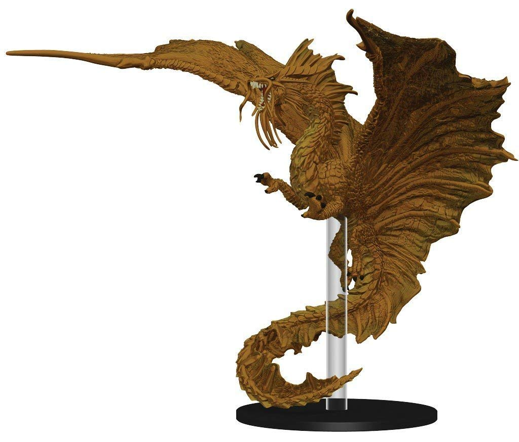 Attack Wing: Dungeons and Dragons Wave Four- Gold Dragon Expansion Pack