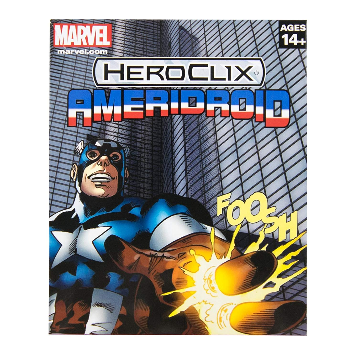 DC HeroClix: 15th Anniversary What If? Ameridroid Case Incentive Figure
