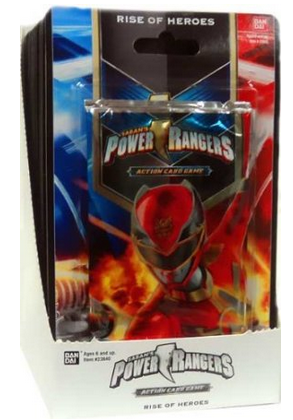 Bandai Power Rangers CCG Rise of Heroes 15ct Booster Box