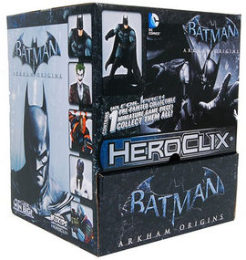 DC Heroclix Miniatures Arkham Origins 24ct Gravity Feed Display Box