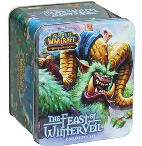 World of Warcraft Feast of WinterVeil Collectors Set Tin