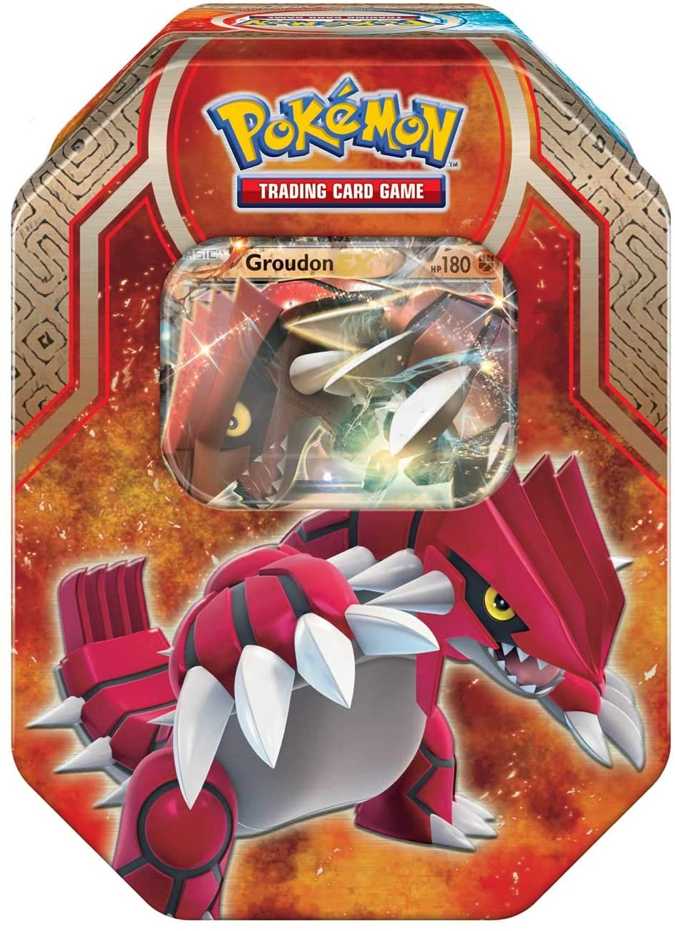 Pokemon 2015 Spring Groudon Ex Tin