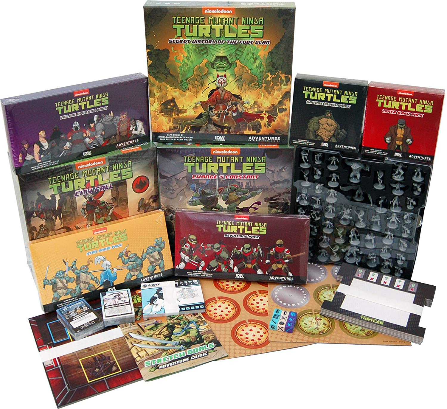 Teenage Mutant Ninja Turtles Adventures: All the Loot Bundle