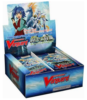Cardfight!! Vanguard VGE-BT01 'Descent of the King of Knights' English Booster Box