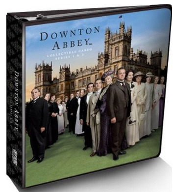 Cryptozoic Downton Abbey Series 1 & 2 Trading Cards Album