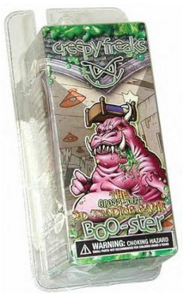 Creepy Freaks the Gross-out 3D Trading Game 24ct BOO-ster Case