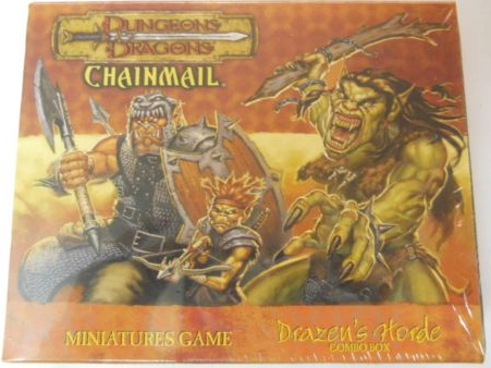 D&D Miniatures Chainmail Drazen's Horde Combo Box