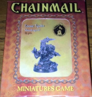 D&D Miniatures Chainmail Stone Spike Mordengard