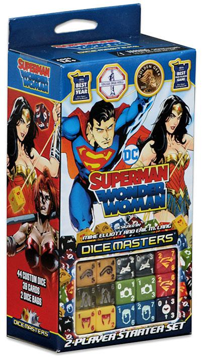 DC Dice Masters: Superman and Wonder Woman Starter Set