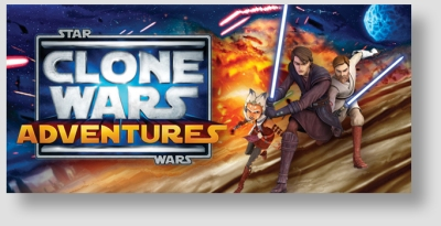 Star Wars Clone Wars Adventures TCG Starter Box