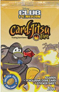 Club Penguin Card Jitsu Fire Lot of 24 Booster Packs