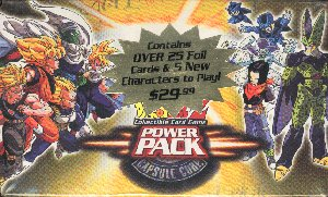 Dragonball Z CCG Power Pack Capsule Corp 4 Box Lot