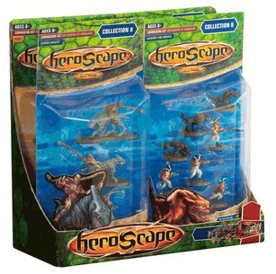 Heroscape: Wave 8, Defenders of Kinsland Complete Set of 4 Packs
