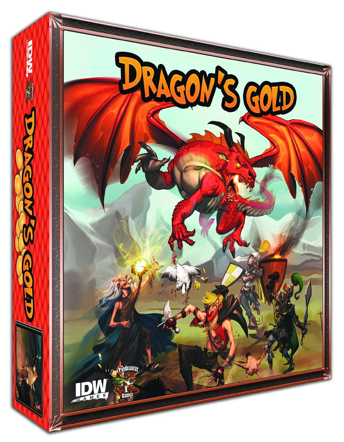 Dragons Gold Game by IDW